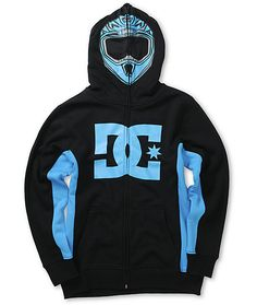Get a fun and unique new style with a full zip up face mask design with a blue helmet graphic and mesh eye and mouth holes plus a soft fleece lining for comfort. Cool Boys Clothes, Lil Boy, Full Zip Hoodie, Mask Design, Hoodies, Sweatshirts, Blue Stripes, Boy Outfits, Zip Ups