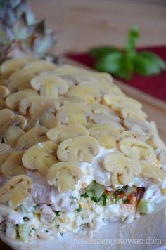 Chicken Egg Salad, Cooking Recipes, Healthy Recipes, Polish Recipes, Tortellini, Coleslaw, Pasta Salad, Salad Recipes, Food And Drink