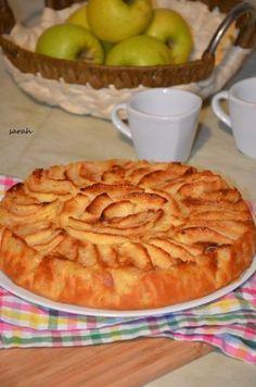le meilleur des gateaux aux pommes gateau normand   Le Sucré Salé d'Oum Souhaib