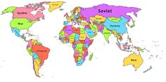 Most recurrent word on each country's Wikipedia page