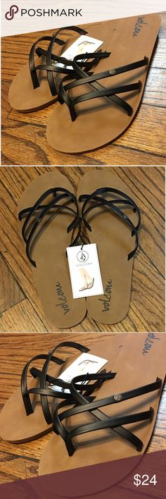 Women's Volcom Sandals Women's Volcom Sandals  •US size 9  •Comfortable soles  •NWT  Trade Volcom Shoes Sandals