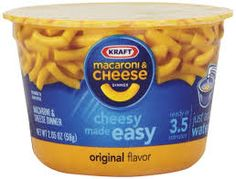 How to make a toddler-sized serving of Kraft macaroni from the blue box -- in the microwave. (DIY Easy Mac)