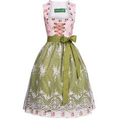 Midi Dirndl Mia in Rosa von Country Line