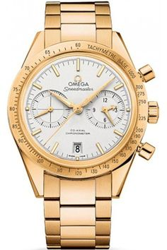 3b2a60f8a4b Omega Watches - Speedmaster 57 Omega Co-Axial Chronograph Yellow Gold