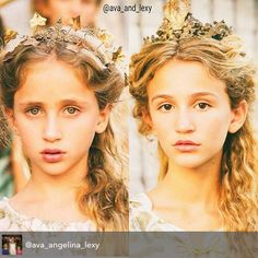 Model Angelina Porcelli and actress from Girl meets world Ava Kolker