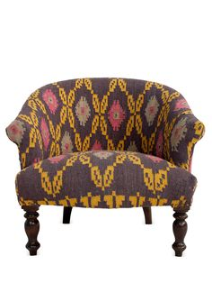 Bruce Kilim Armchair by nuLOOM at Gilt