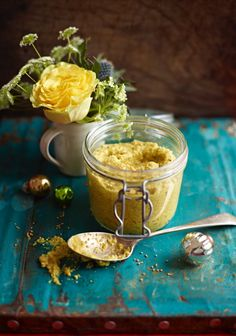 Homemade mustard - a Jamie Oliver recipe .