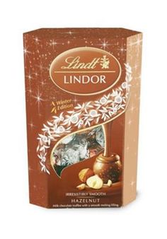 An indulgent taste sensation awaits you in every box of melting LINDOR Hazelnut truffles. As the dark nights draw in and temperatures drop, unwrap a moment of bliss and savour the smooth filling encased in a delicate milk chocolate shell made with real hazelnut pieces. Crafted with passion by the Lindt Master Chocolatier.