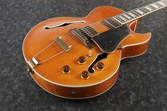 Ibanez Guitar black polished silver-plated keyring