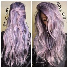 Silver or Purple shades! This year's TOP hair color trends!!!