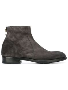 BUTTERO grey ankle boots | #minimalistic
