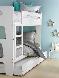 Lits superpos s de cabine sur pinterest lits cabine d cor de pavillon de c - Lit superpose vertbaudet ...