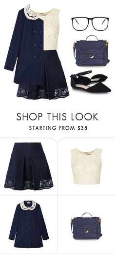 """Untitled #2267"" by lbenigni ❤ liked on Polyvore featuring Chloé and Topshop"