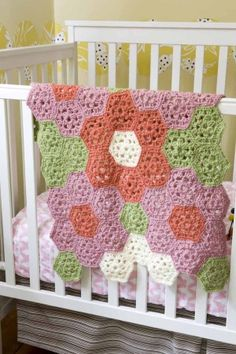 Maddy's baby blanket. So cute