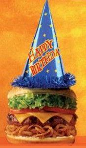 Birthday freebies!  Looks like I will have a busy birthday