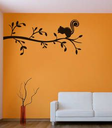 Buy Squirrel on the branch  wall-decal online