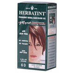 HERBATINT HAIR COLOR,6D,DRK GLD BLN, CT ** For more information, visit image link. (This is an affiliate link and I receive a commission for the sales) #HairColoringProducts
