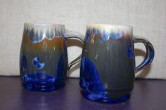 Bill Campbell Studios Flambeaux glaze mugs from Nan Gunnett & Co in Hummelstown, PA