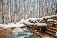 Strawberry 833 is a beautiful villa for rent in Avon, CO. Heated Driveway, Beaver Creek, Beautiful Villas, Driveways, Mountain View, Garden Bridge, Linens, Skiing, Colorado