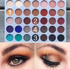 Makeup Tips Over 50 round Eye Makeup Look Blue Eyeshadow after Makeup Artist Flyers concerning Natural Eyeshadow Looks With Jaclyn Hill Palette Jaclyn Hill Palette, Jacklyn Hill Palette Looks, Jaclyn Hill Eyeshadow Palette, Eyeshadow Basics, Morphe Eyeshadow, Eyeshadow For Blue Eyes, Eyeshadow Looks, Eyeshadow Makeup, Natural Eyeshadow