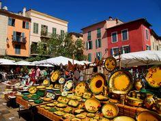 Market in Antibes