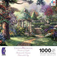 kinkate puzzles | CEACO THOMAS KINKADE JIGSAW PUZZLE GAZEBO OF PRAYER 3310-18 in Toys ...