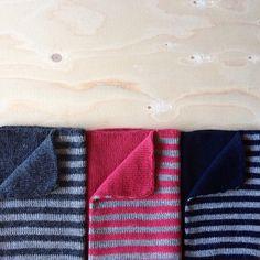 Stripes&solids #woodpeckervest #nievaknitwear