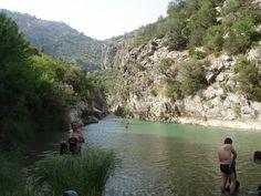 Cañón de las Buitreras rio guadiaro