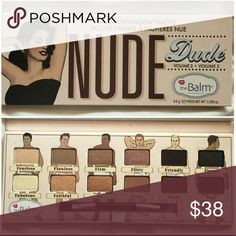 "NEW The Balm Nude Dude Eyeshadow Pallette Again, just like my other make up pallettes that I have up on here, this is just a sample picture. If you click that ""buy"" button yours would come BRAND NEW  I do hair and make up, 100% authentic, or you can take me to the make up police!  Sephora Makeup Eyeshadow"