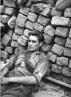France. French Resistance Fighter, 1944  (so many heroes in WWII)