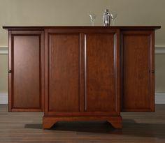 LaFayette Expandable Bar Cabinet - Classic Cherry $589.00