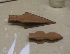 Cardboard Spear