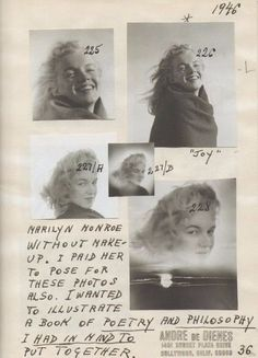de rares photos de Marilyn Monroe à 20 ans  2Tout2Rien