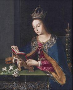 Baltasar de Echave Orio (late 16th century – mid-17th century)  —    Anunciacion, 1621 (688x850)