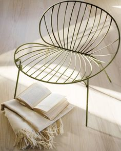 lily chair, you look like a great place to read a book... with a cushion