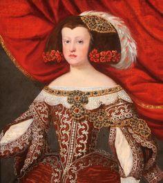 FCBTC / Portrait of the Infanta Margarita of Habsburg....or Maria Teresa?  Please help....