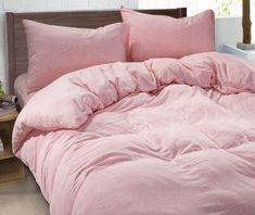 Ordinaire Ballet Slipper Pink Duvet Cover Made Of 100% Ultra Soft Linen, Pink Bedding,  Twin Bedding, Dorm Bedding, Queen Duvet Cover, King Duvet Cover