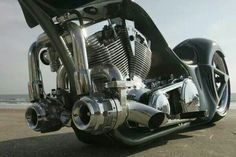 Twin turbo V twin