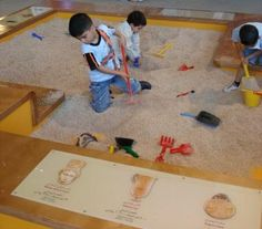 childrens museum exhibits | The Archaeology Dig Exhibit at the Children's Museum, Amman