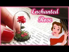 """Beauty & The Beast"" Miniature Enchanted Rose Terrarium, Polymer Clay Tutorial || Maive Ferrando - YouTube"