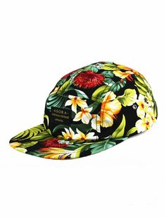 Agora 5 Panel Caps || British Indie Clothing - AcquireGarms.com