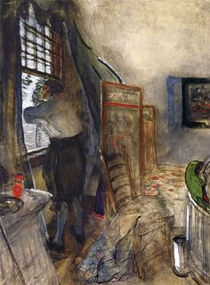 The Athenaeum - Peter the Great in the Palace of Monplaisir (Valentin Serov - )