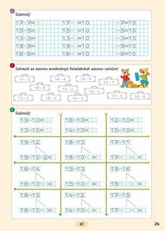 Fotó: Worksheets, Album, Learning, Archive, Garden, Baby, Note Cards, Class Room, Math Resources