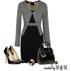 """""""~WEDNESDAY @ THE OFFICE~"""" by marion-fashionista-diva-miller on Polyvore"""