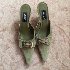 Green Vaneli Shoes