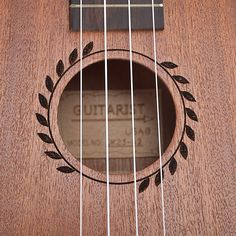 Concert Acoustic Electric Ukulele 23 Inch Guitar 4 Strings Ukelele Guitarra…