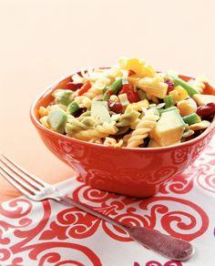 Lämmin meksikolainen pastasalaatti | K-ruoka