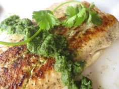 Grilled Salmon with Cilantro Mint Chutney - Dr. Mark Hyman Grilled Salmon with Cilantro Mint Chutney Salmon Recipes, Fish Recipes, Seafood Recipes, Entree Recipes, Cooking Recipes, Detox Recipes, Healthy Recipes, Healthy Dinners, 10 Day Detox Diet