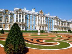 Catherine's Castle, Saint Petersburg, Russia. She wasn't called Catherine the Great just because!