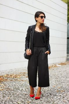 I love Fita Métrica: Grey Culottes